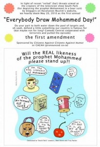 May 20th: Everyone Draw Muhammad Day and Upload to SIOA Facebook Page